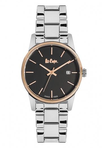 Купить часы LEE COOPER LC06346.350 с циферблатом черного цвета