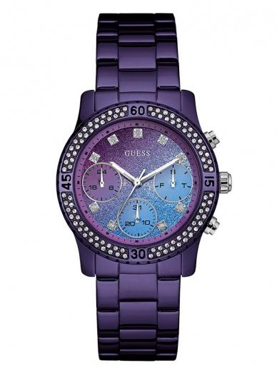 Женские наручные часы GUESS W0774L4 в классическом стиле с календарем купить в Киеве
