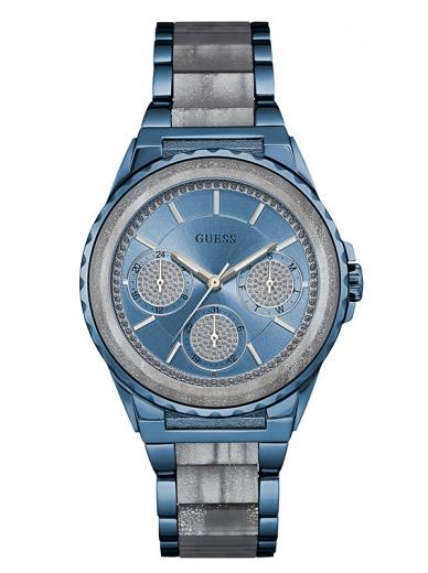 Женские наручные часы GUESS W0847L1 в спортивном стиле с календарем купить в Киеве