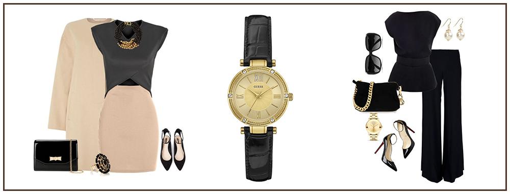 классический стиль и часы