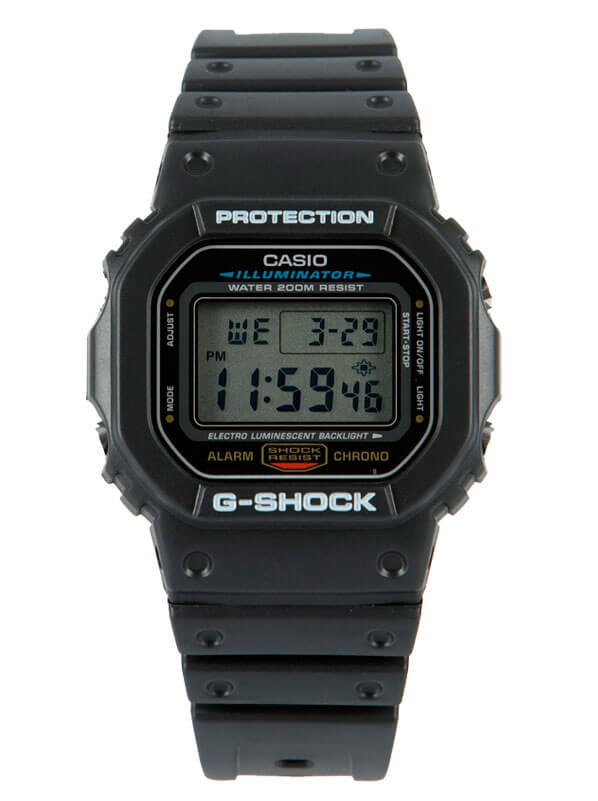 Часы мужские Casio G-Shock DW-5600E-1VER по дотупной цене