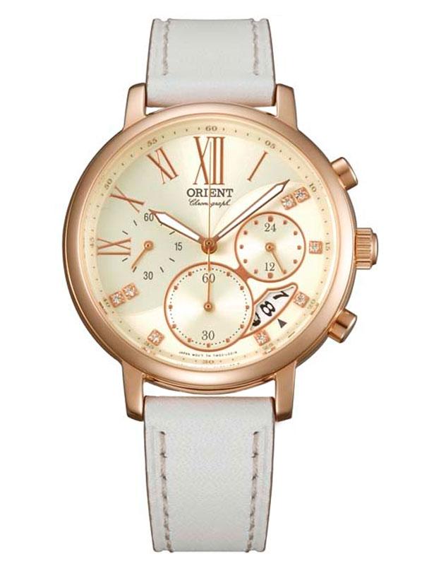 Часы-хронограф с люминесцентными стрелками