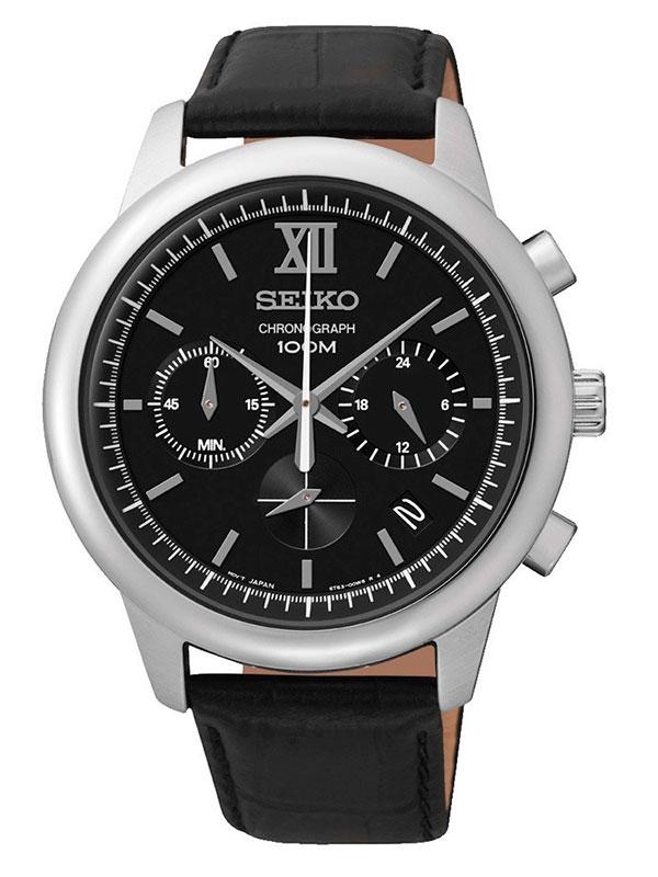Мужские часы на кажаном ремешке Seiko SSB139P2. 4 972. 5 524. добавить к сравнению. грн