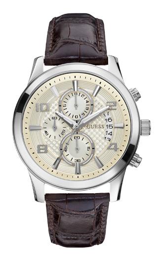 Мужские часы GUESS W0076G2 из коллекции Mens Dress в спортивном стиле купить в Киеве