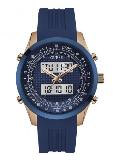 Мужские часы GUESS W0862G1 спортивные, круглые, синий и гарантией 24 месяца 0652eea0a6d