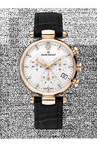 925a7069 Женские часы CLAUDE BERNARD 10215 37R APR2 классические, белые и гарантией  24 месяца