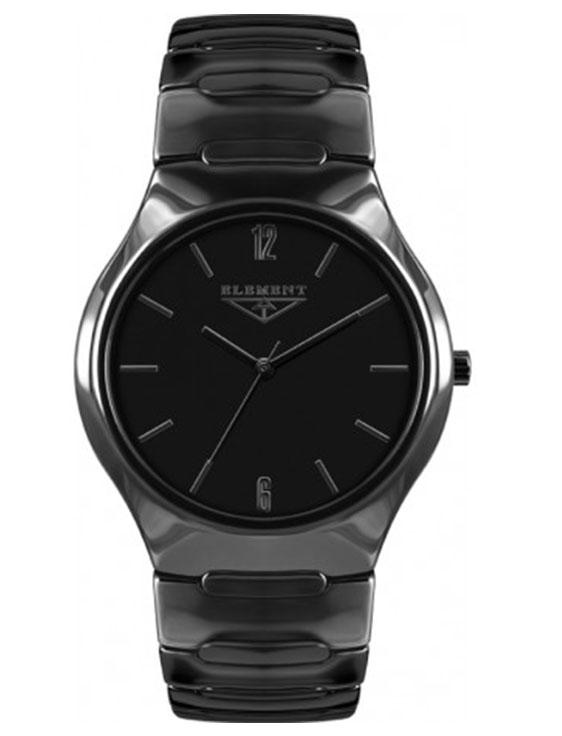 75492bc2 Мужские наручные часы 33 Element 331428C классические, черные и гарантией 33  месяца