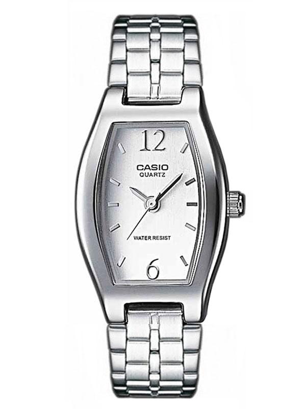 8a46de95 Женские часы CASIO LTP-1281PD-7AEF классические, белые и гарантией 12  месяцев