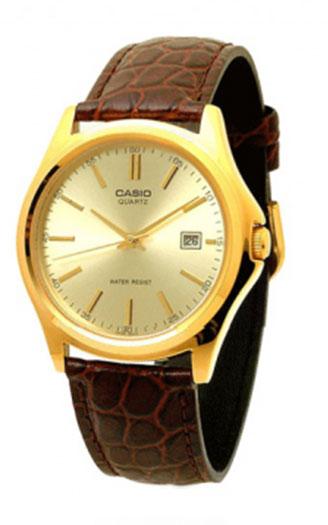Позолоченные наручные часы Casio