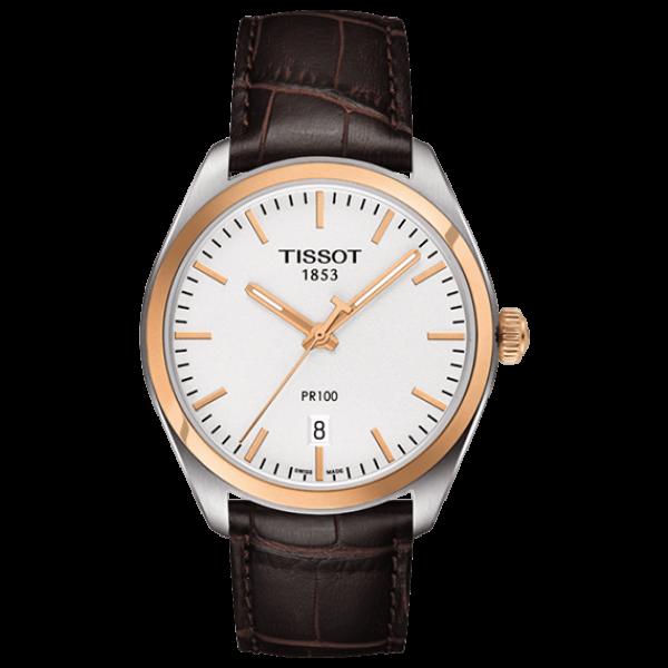 826d2a39 Мужские часы Tissot T101.410.26.031.00 классические, белые и гарантией 24  месяца