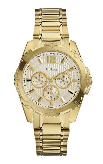 053bcb6593a5 Женские часы Guess W0232L2 спортивные, круглые, металлик и гарантией 24  месяца